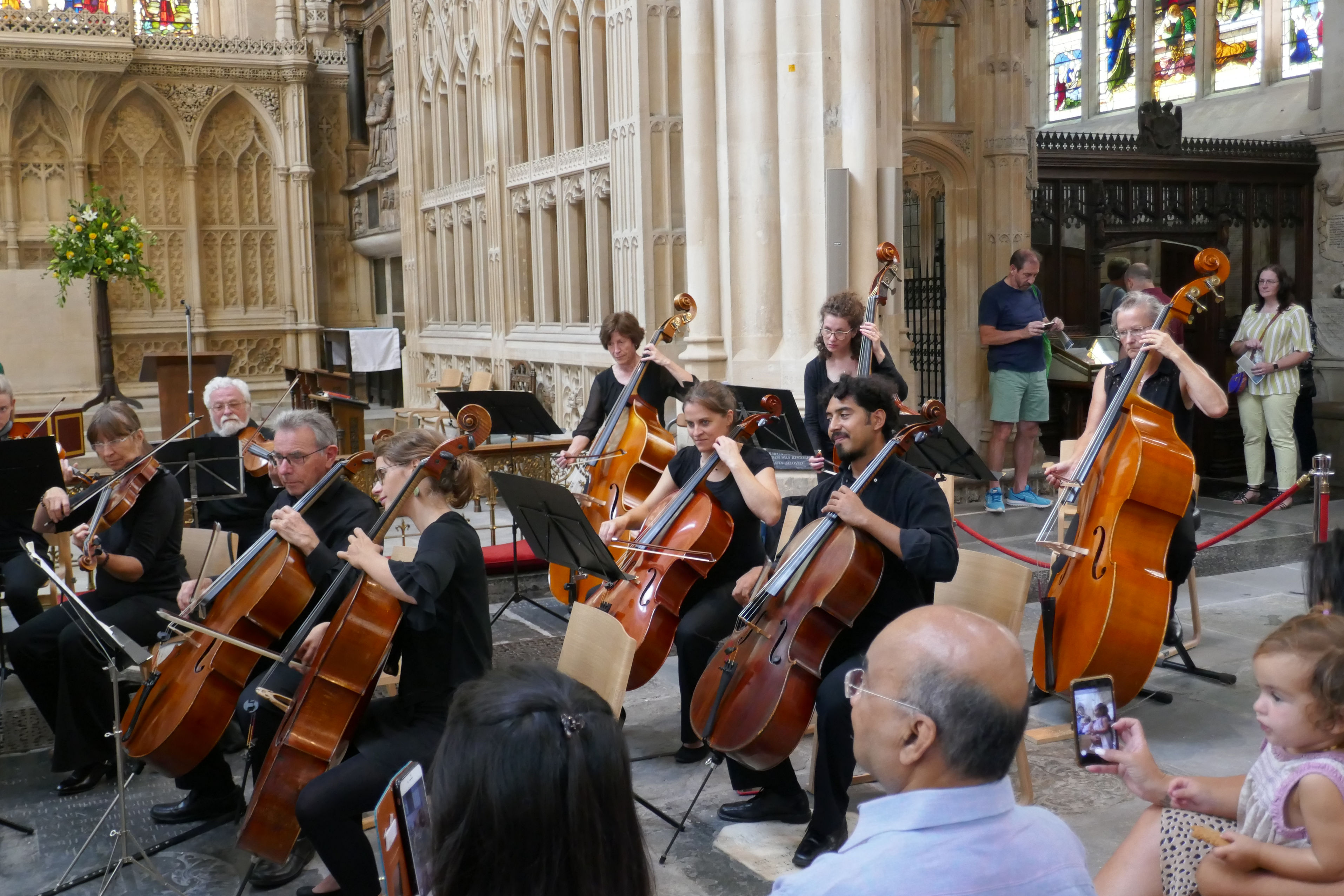Konzertstunde in Bath Abbey